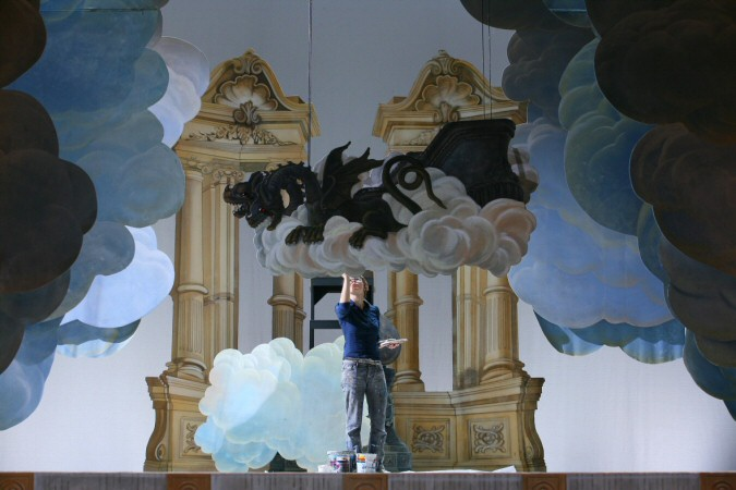 Gilbert Blin's production of Teseo, Opéra de Nice 2007 (Photo Jean Lec © Académie Desprez)
